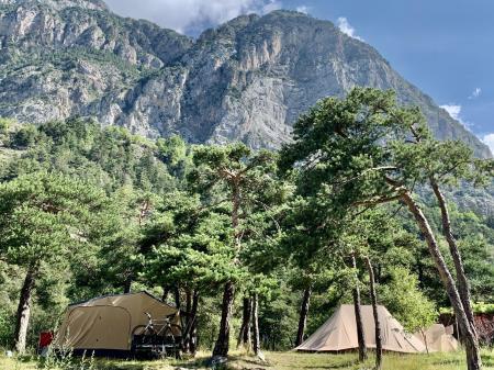 Camping River, Le Martinet Méolans Revel