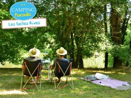 Camping Paradis Les Belles Rives, Cazoules
