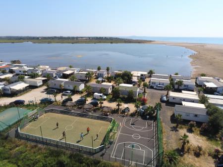 Camping Bleu Marine, Serignan
