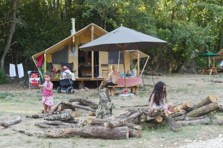 Camping Huttopia Sud Ardeche, Vagnas