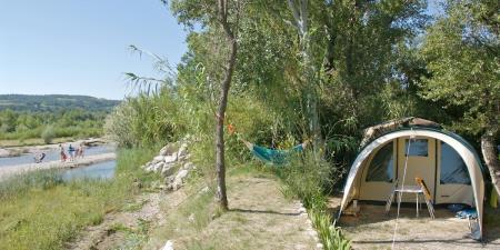 Camping Les Rives De L'Aygues, Tulette