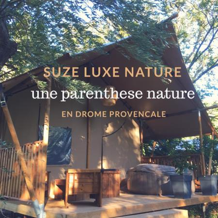 Camping Suze Luxe Nature, Suze La Rousse