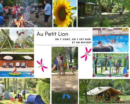 Camping Le Petit Lion, Vendoire